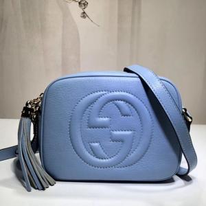 308364淺藍色 soho系列 原單全皮 相機包 斜背包
